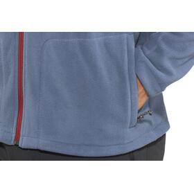 Columbia Fast Trek II Full Zip Fleece Jacket Men Dark Mountain/Red Element